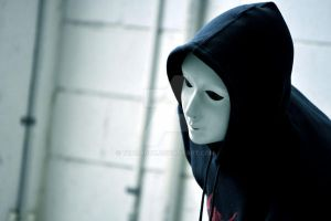 The Hooded Figure by Thoradox