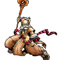 Battle Chasers Color by dougans