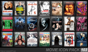 Movie Icon Pack 103 by FirstLine1