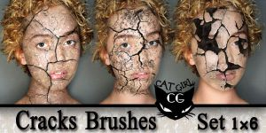 cracks brushes 1 by CAT-GIRL-Q8