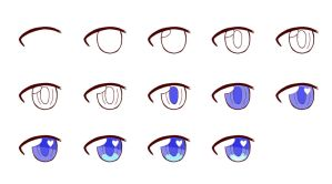 Blue Eye Tutorial by Bloody-Prison-Rose