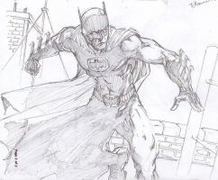 Batman Sketch by aminamat