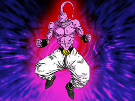 Super Buu by kailmanning