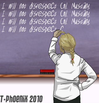 FMA: School Punishment by Heliotrope-Housecat