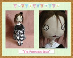 The Pin Cushion Queen by almaxaquotal
