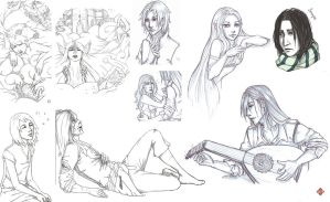 Sketches again by Armide