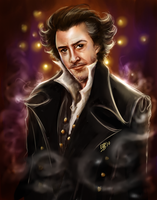 Sherlock Holmes Robert Downey by FairyGodfather
