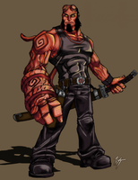 Hellboy by WesTalbott