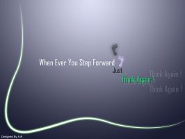 When Ever you Step Forword. by A-K207