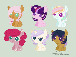 MLP Fluttershy Shipping Adoptables by Athene112