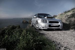 Subaru STI - Rallye time by bischii