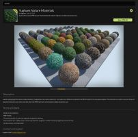 UE4 Marketplace : Nature pack by Nobiax