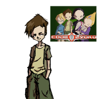 Code Lyoko Test - Rough Doodle - Ulrich Stern by isora683
