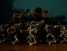 Iron Warriors by Damatee