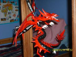 slifer the sky dragon by draculablade