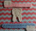 Tooth and brushes- crochet by crochetamommy