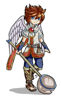 Skyloft Angel by Lady-of-Link