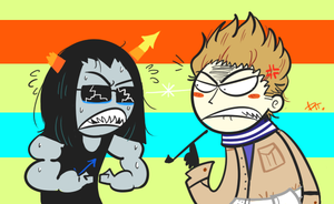 Equius and Netherlands by WisteriaPeacock