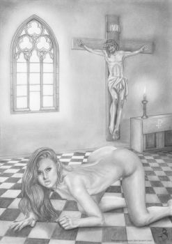Christian Woman by KainMorgenmeer