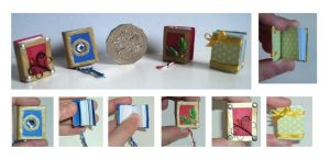 Miniature Book by lilchibichan