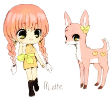 custom OC -- miette by onisuu