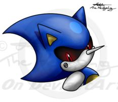 Metal Sonic colo2 by Metal-CosxArt