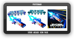 Syder Arcade Icon Pack by POOTERMAN