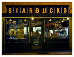 1st Starbucks by UrbanRural-Photo