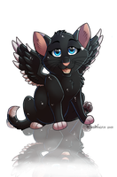 Shadow Chibi Commission by WindWo1f