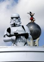 Stormtrooper and Mickey by RubberDuckyTai
