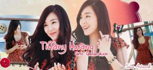 Tiffany SNSD Red Leopard Banner by yoonaddict150202