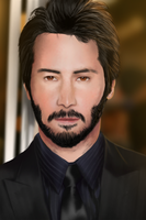 Keanu Reeves by Omar6