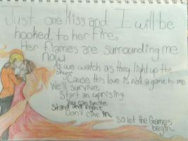 Girl on Fire by maryellens99