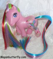 Humming Bird Custom Pony by mayanbutterfly