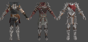 DAI Hawke Male Champion Outfits XPS by Padme4000