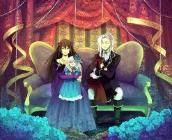 Pandora Hearts-Family Portrait by Bambz-Art