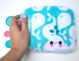 Whale Pouch by CosmiCosmos