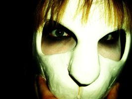 The Rabbit Mask IV by whyte-rabbit
