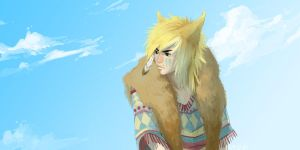 wolf coop by AMSBT