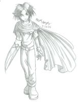 Cloud's Character by PencilWarrior