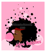 Afro bubbles by windingkira