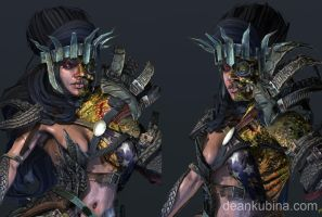 Mutant Queen Detail by dkubina