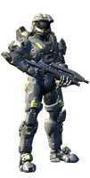My Spartan in halo 4 update by Wolf-S305