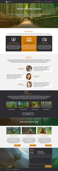 Internet marketing Company - Bootstrap WebDesign by ramzesu
