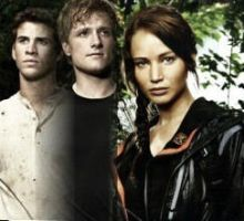 Peeta, Katniss, and Gale by 1000maddy