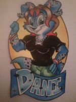 Risha's Dani Badge by SketchDalmatian
