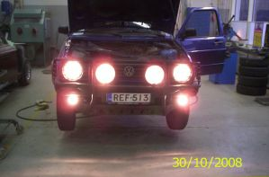 VW Golf Country Syncro lights by Orkekum