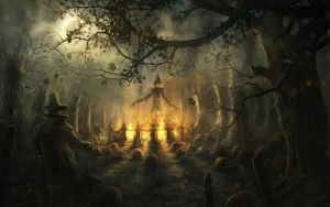 Wallpaper-halloween by damienmand