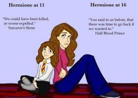 Hermione's Change by DKCissner