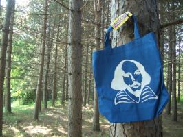 Shakespeare tote by estranged-illusions
